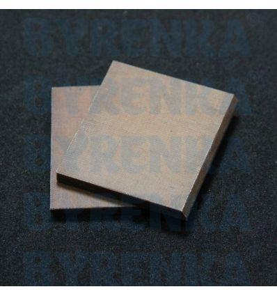 Лопатки текстолітові 50х45х5 (КОМПЛЕКТ 2шт)(масляний насос)