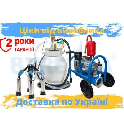 """Доїльний апарат (масляний) АІД """"Буренка-1 нержавійка"""""""