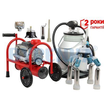 Доїльний апарат Буренка-1 євро-силікон 3000